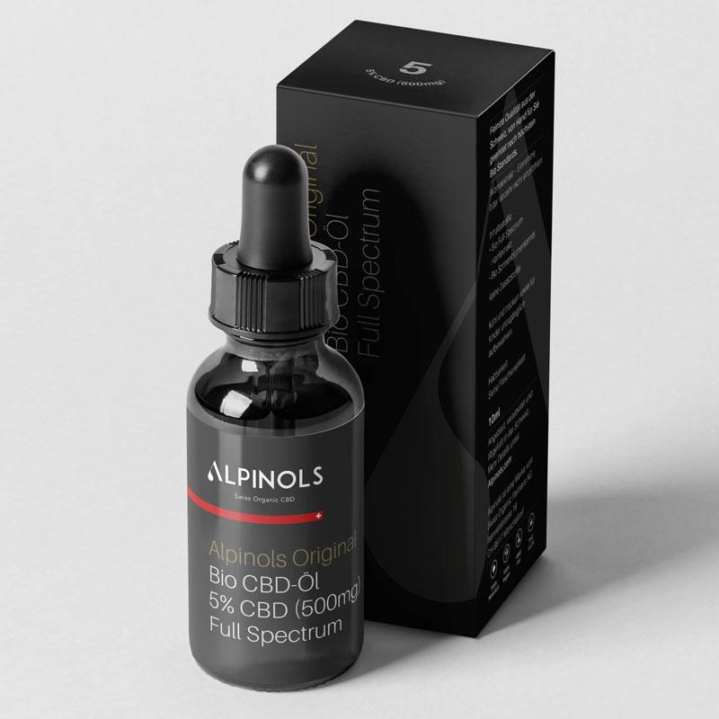 Alpinols CBD Öl 5% mit THC